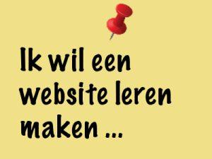Felixa - Ik wil een website leren maken
