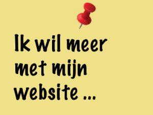 Felixa - Ik wil meer met mijn website