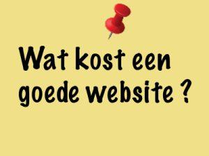 Felixa - Wat kost een goede website